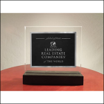 LeadingRE Standing Plaque (small)
